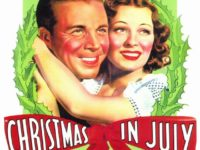 """Dick Powell and Ellen Drew star in """"Christmas in July,"""" screening Friday through Sunday at the Old Town Music Hall in El Segundo. (310) 322-2592 or OldTownMusicHall.org. COURTESY OLD TOWN MUSIC HALL"""