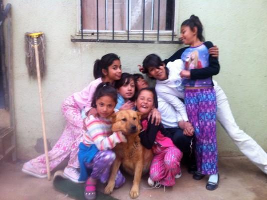 Some of the children at Casa Hogar Canon Buena Vista. Courtesy of Randy Meadors