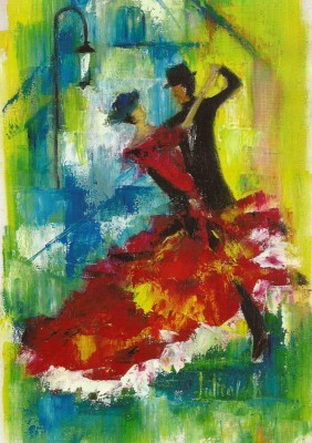 "COURTESY OF JULLIENA OKAH ""Tango,"" by Julliena Okah"