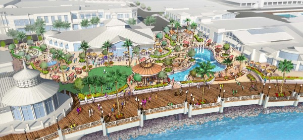 Rendering of the proposed Waterfront Revitalization Project in Redondo Beach. Courtesy of CenterCal.