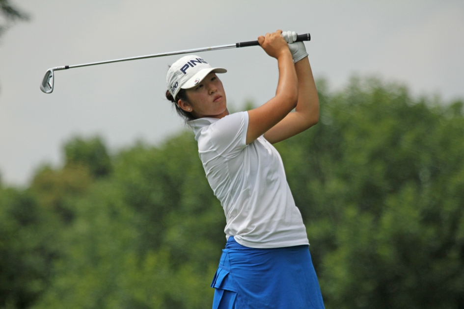 Hermosa Beach's Andrea Lee is the No. 1-ranked girl in the Polo Golf Rankings. Photo by AJGA Communications Intern Brett Polachek