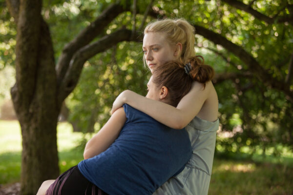 Elizabeth Olsen and Dakota Fanning in Very Good Girls distributed by Tribeca Film