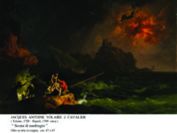 """The new American Art Galleries are opening this weekend at the Huntington Library, Art Collections, and Botanical Gardens in San Marino. New acquisitions by Jacques Antoine Volaire il Cavalier, including """"Scena di naufragio"""" (Shipwreck Scene), are on view. PHOTO ⒸTHE HUNTINGTON"""