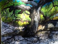 """""""All Themes Considered"""" opens Saturday with a reception from 6 to 9 p.m. at South Bay Contemporary in Rolling Hills Estates. Pictured, """"Griffith Park Tree"""" by guest artist and curator Scott Canty. (310) 429-0973 or go to SouthBayContemporary.com"""