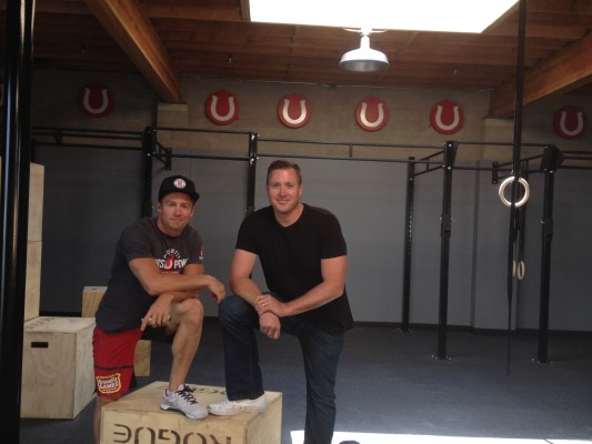 CrossFit Horse Power co-owners Dan Wells and Jed Sanford at their new Hermosa Beach location. Photo by Ryah Cooley, Staff.