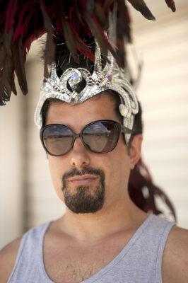 DJ Ass Maggots, in full regalia GLORIA PLASCENCIA, CONTRIBUTING PHOTOGRAPHER