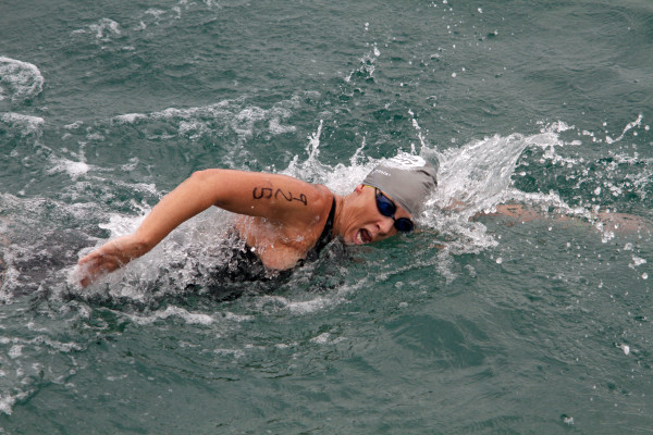 Amy Danzler finished second in the 50 to 54 division. Photo by Ray Vidal