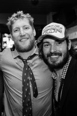 Matt Greene and Drew Doughty.