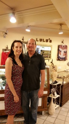 Cindy and David Levin of Lulu's. Courtesy of the Levins
