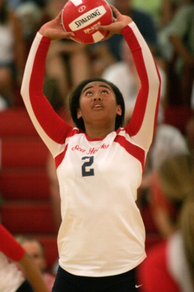 Two-time All-CIF setter Norene Iosia will spread the ball around to a potent Redondo offense. Photo by Ray Vidal