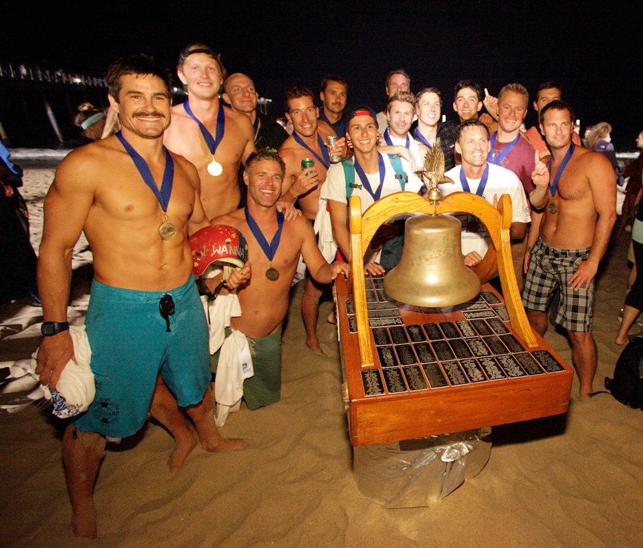 Members of the South team ended L.A. County Central's six-year hold of the coveted Taplin Bell. Photo by Ray Vidal