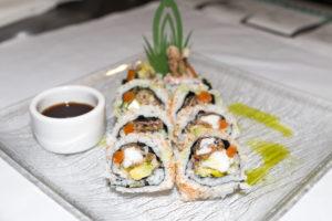 Crispy spicy tuna roll.