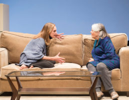 Lisa Emery as Tess and Lois Smith as her mother Marjorie PHOTO BY CRAIG SCHWARTZ