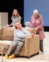 Lisa Emery as Tess, Frank Wood as her husband Jon, and Lois Smith as Marjorie PHOTO BY CRAIG SCHWARTZ