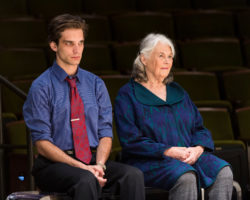 Jeff Ward as Walter and Lois Smith as Marjorie PHOTO BY CRAIG SCHWARTZ
