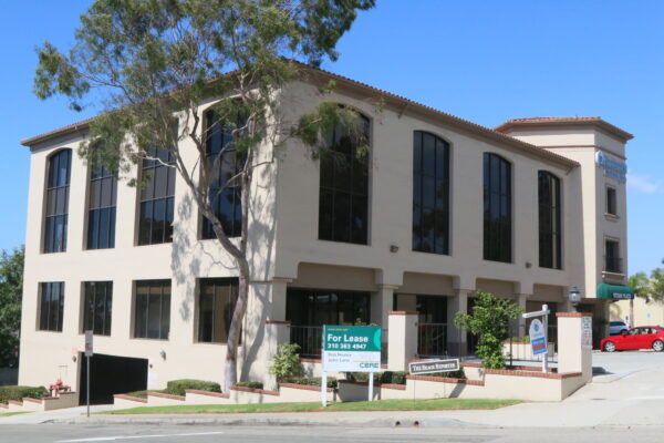 A master key was apparently used to gain access to offices at this Pacific Coast Highway and Artesia Boulevard office building.