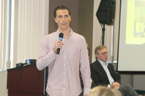 Beyond Meat co-founder Brent Taylor credits El Segundo with is success.