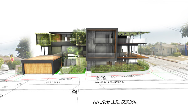 Rendering Of Breakformu0027s Penmar Houses Project: Architectural Design And  Construction Of Two Single Family Homes