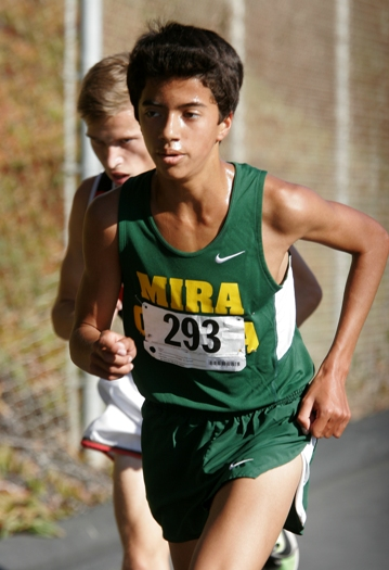Senior Chance Weston will help Mira Costa challenge for the Bay League title. Photo by Ray Vidal