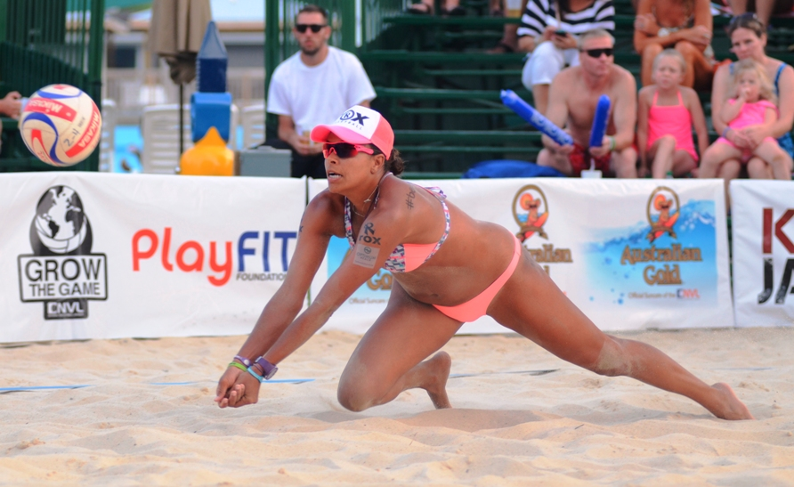 Redondo Beach's Priscilla Lima is fourth among women in the NVL Points Standings. Photo courtesy of the NVL