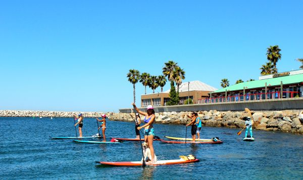 Olympus Sup Fit Offers Standup Paddleboard Yoga Cles In Redondo Beach Photo Courtesy Of