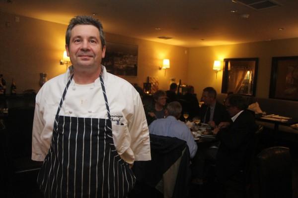 Chef Dominique Theval. Photo