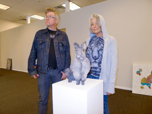 Mat Gleason and Peggy Zask BONDO WYSZPOLSKI, STAFF PHOTOGRAPHER