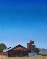 """Blue Skies,"" by Margaret Lindsey COURTESY DESTINATION: ART"