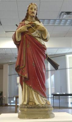 """Michele Castagnetti, """"Jesus the Hunter"""""""