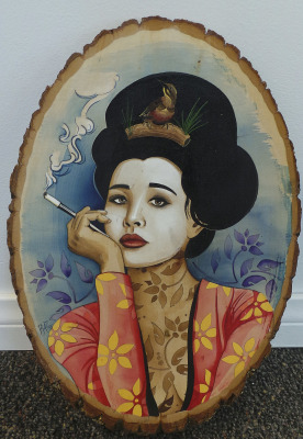"Petrushka, ""Geisha of the Twin Peaks"""