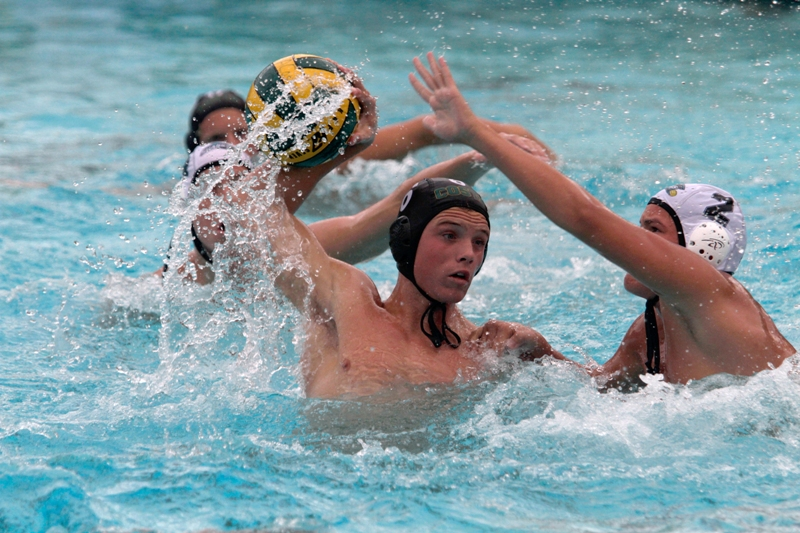 Mira Costa's Andrew Todd scored three goals against San Clemente to lead the Mustangs into their CIF semifinal game against top-seeded Foothill. Photo by Ray Vidal