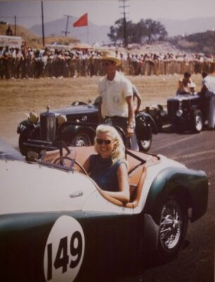 Portofino Hotel marina owner Mary Davis was one of the first  professional women race car drivers, paving the way for Danika Patrick, and the current generation of female race car drivers.