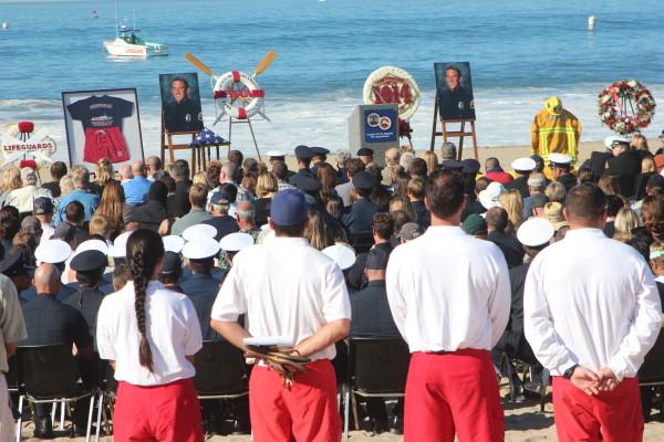Lifeguards hold memorial for popular deckhand Kutil | Easy Reader News