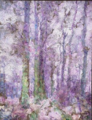 """Purple Forest"" (1921), by Paul Jean Martel"