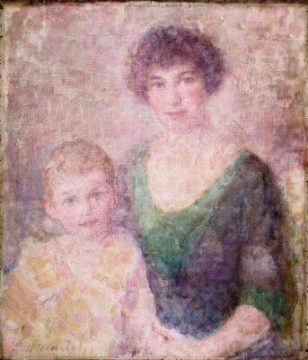 """Remi and Muriel"" (n.d.), by Paul Jean Martel"