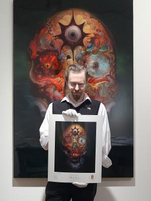 5c80e6459 Artist Burton Gray with