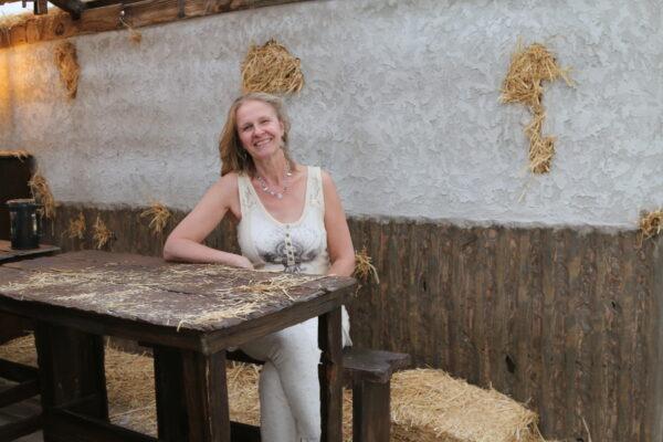 Author Cornelia Funke. Photo by Bondo Wyszpolski