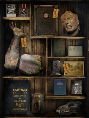 A few things you'll find in MirrorWorld. Image courtesy of Mirada Studios