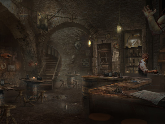 Ogre tavern; explore it closely (and carefully) in MirrorWorld. Image courtesy of Mirada Studios
