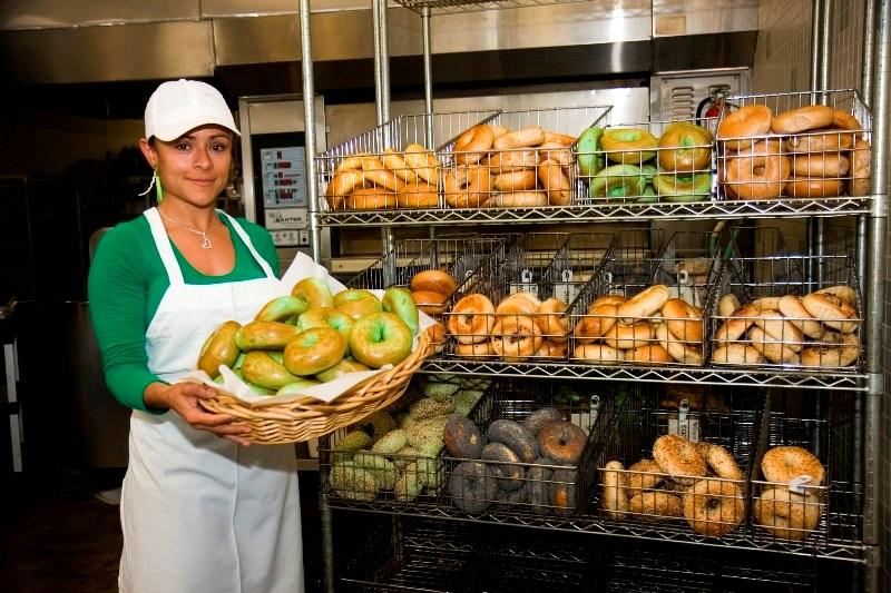 Manhattan Bread and Bagel: Best bagel
