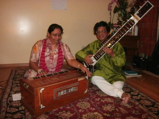 Sanjukta and Aloke Dasgupta. Photo courtesy the Dasguptas