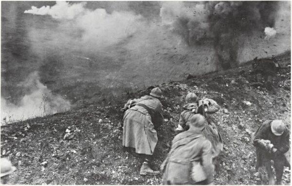 World War I at Verdun, 1916; Gelatin silver print; The Getty Research Institute