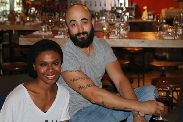 Lenora and Adnen Marouani, owners of Barsha Wines and Spirits. Photo by Mark McDermott