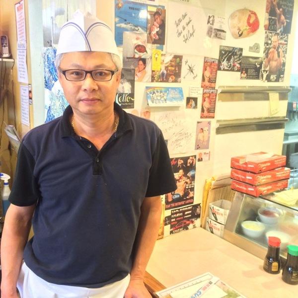 Simon at Oki Doki Sushi: Best Sushi Chef