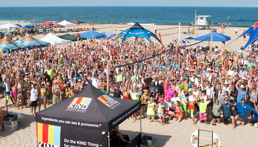 The Smackfest Beach Volleyball Tournament In Hermosa Has Come To Rival Charlie Saikley Six