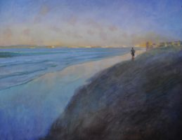 """""""On the Beach,"""" featuring work by members of the Redondo Beach Art Group, has a reception Saturday from 6 to 9 p.m. at the Frame & Art Department Gallery, 950 Aviation Blvd., Hermosa"""