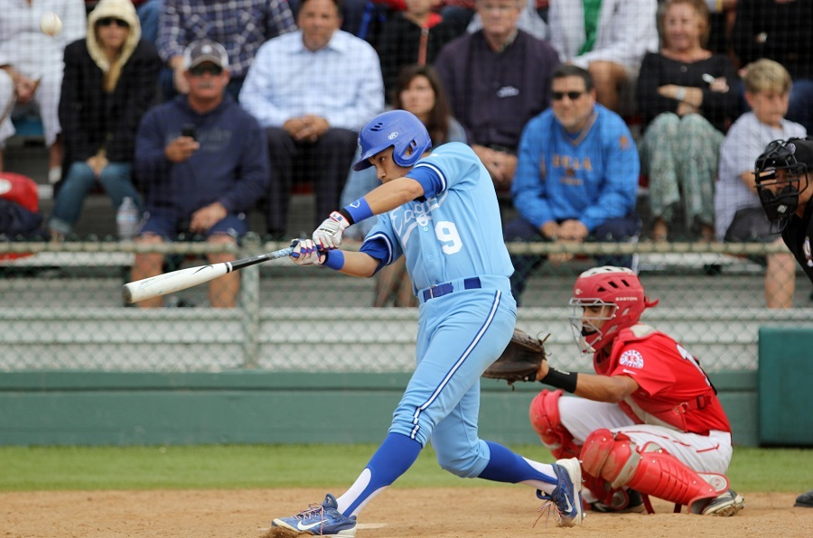 El Segundo's Hunter Lewis batted .345 with 36 RBI in 32 games as a senior. Photo by Greg McMullen