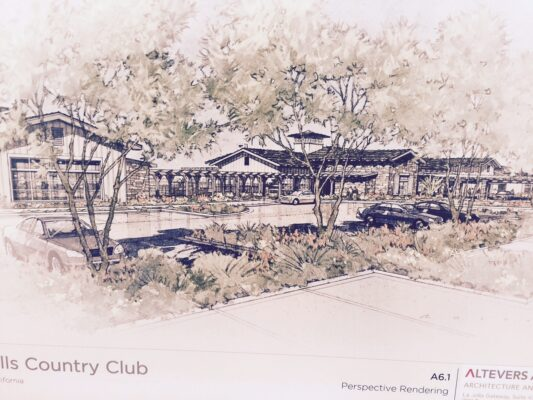 The new Rolling Hills Country Club will have a 60,000-square-foot clubhouse, fitness facilities and a 25 meter pool.