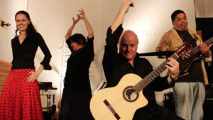 Guitarist Karl Grossman and Camino Rio perform their spicy jazz-rhumba stylings on Sunday at 11 a.m. at the  Palos Verdes Street Fair & Music Festival. The two-day event (also on Saturday) is located at 501 Deep Valley Drive, Rolling Hills Estates. Information at pvstreetfair.com