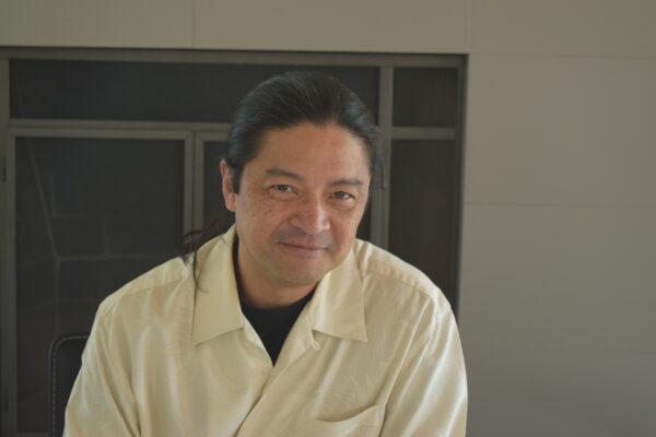 Roberto Perlas Gomez. Photo by Bondo Wyszpolski